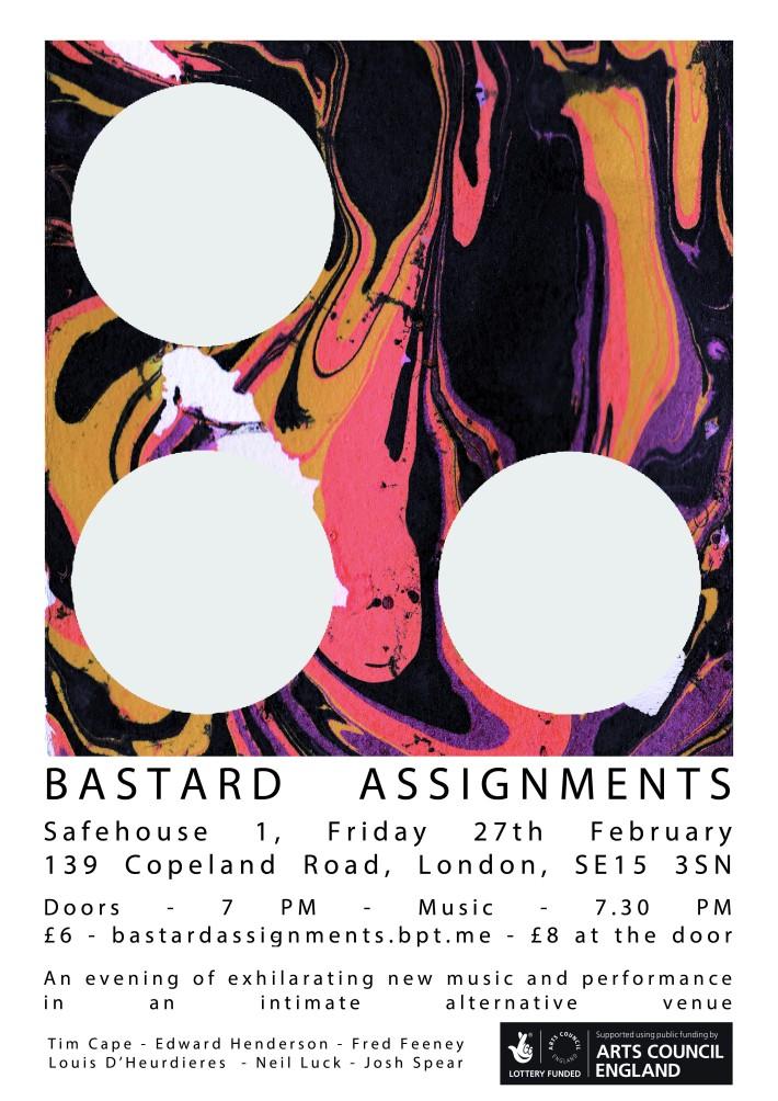 BA arts council poster PRINT