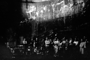 Audience in the Shaft